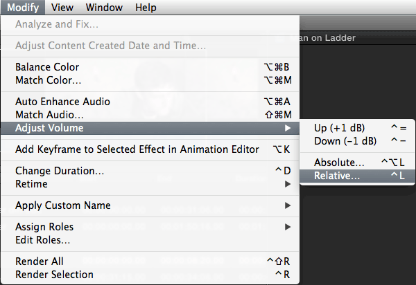 how to make audio clip all one volume