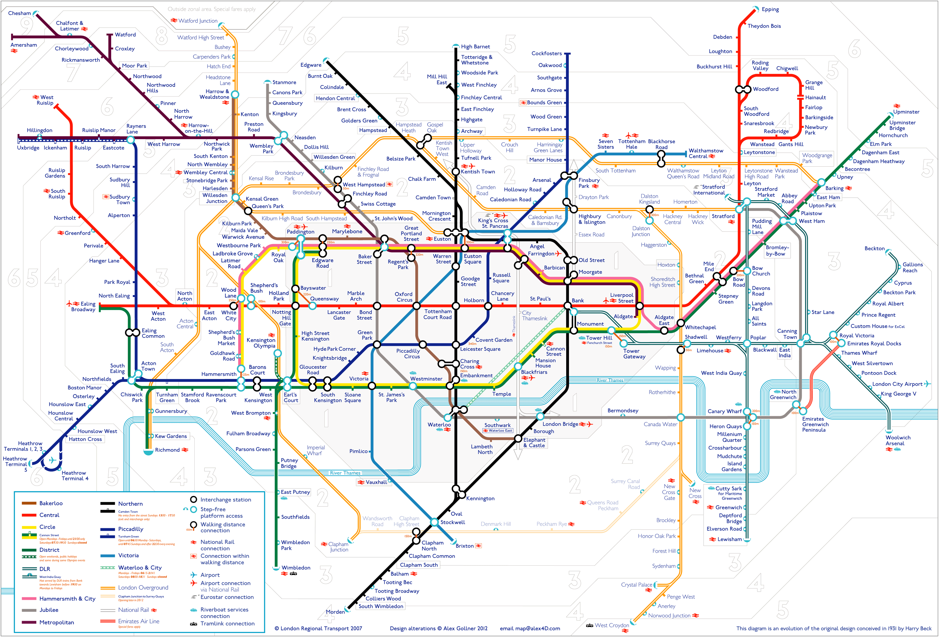 Underground And Overground Map Tube map visitors – a huge version | alex4D old blog Underground And Overground Map